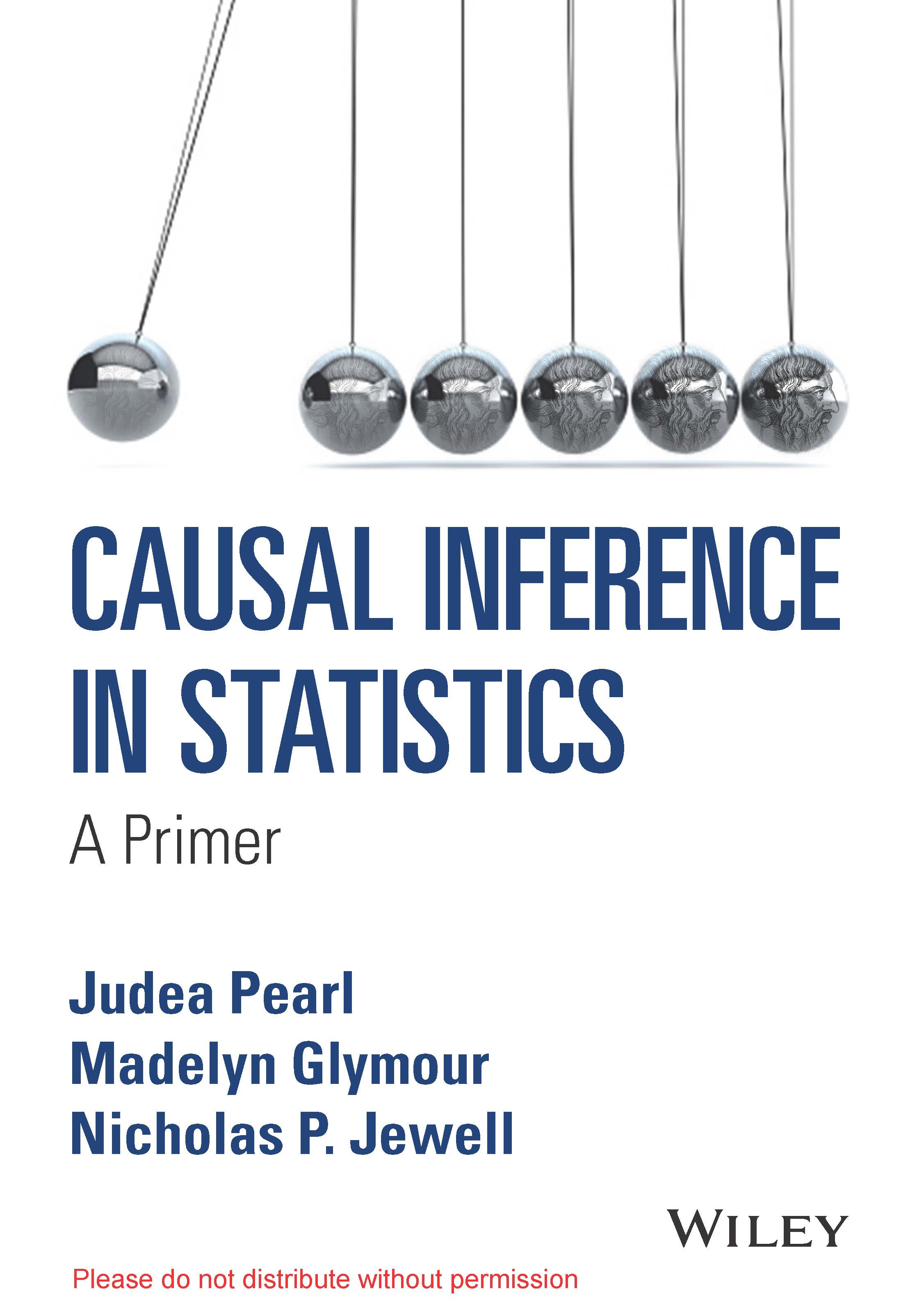 "New Judea Pearl Causal Inference ""Primer"""